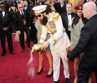 Sacha Baron Cohen dictates film's big night