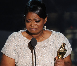 Octavia Spencer rouses Tinseltown with emotional win
