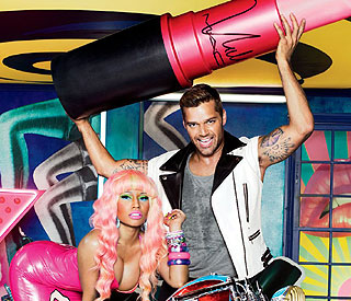 Ricky Martin and Nicki Minaj team up for charity