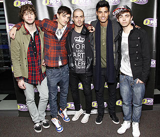 British boyband The Wanted heading for US success