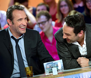 Jean Dujardin finds voice in comedy