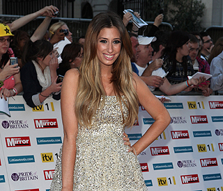Pregnant Stacey Solomon 'not proud' of smoking pics