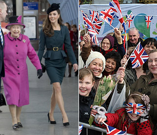Euphoria as the Queen's Diamond Jubilee begins