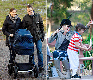 Mother's Day: Stars enjoying time with their little ones
