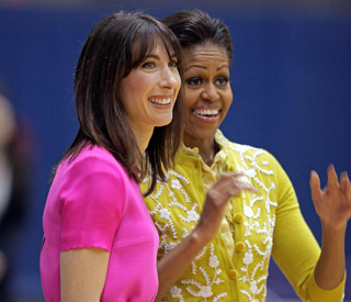 Samantha and Michelle team up on PM's US trip