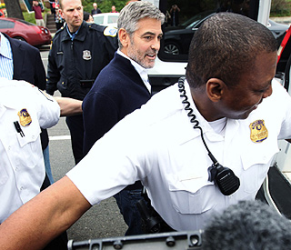 George Clooney arrested in Washington