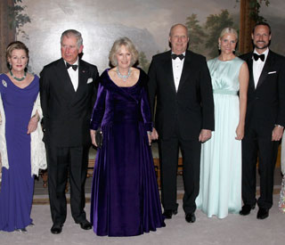 Camilla shines next to Mette-Marit of Norway