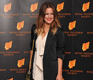 Caroline Flack leads congratulations to One Direction