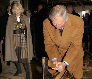 Charles and Camilla take survival course in Norway