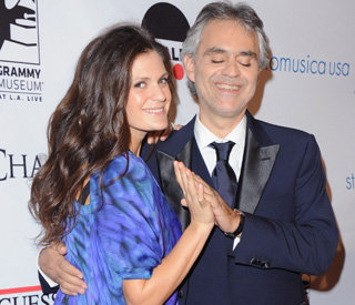 Andrea Bocelli and fiancée welcome baby girl