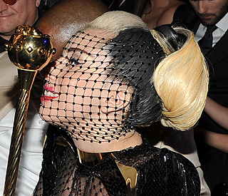 Lady Gaga: bleaching and colouring takes its toll