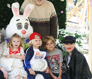 No doubt Easter is fun for Gwen Stefani and her sons