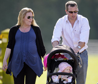 Queen's grandson Peter Phillips and wife welcome baby