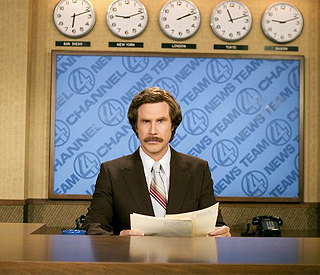 Will Ferrell confirms 'Anchorman 2'