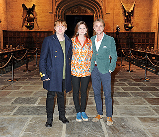 Harry Potter stars welcome fans behind the scenes