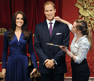 Madame Tussauds wax lyrical about William and Kate
