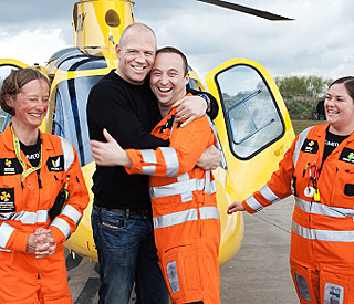 New high-flying role puts Mike Tindall on cloud nine