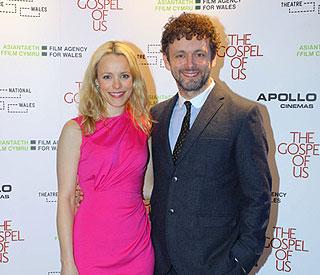 Michael Sheen and Rachel take love to Wales