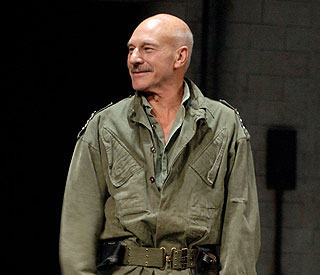 Patrick Stewart afraid of fights with 'crazy actors'