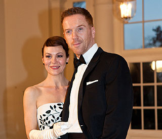 Helen McCrory 'stole' from White House