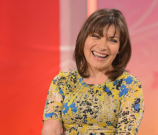 Lorraine Kelly returns to TV after riding accident