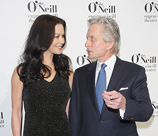 Catherine Zeta-Jones back by Michael's side