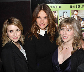Julia Roberts' new movie is a family affair