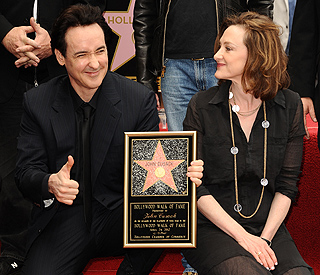 John Cusack honoured on Hollywood Walk of Fame