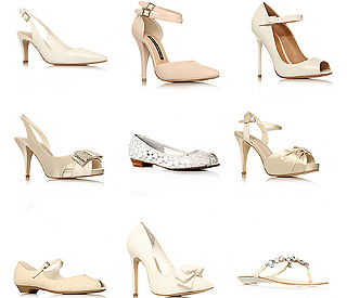 Choosing the perfect shoes for your wedding day