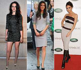 Kristen beats Kate and VB to 'best-dressed woman'