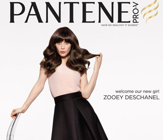 Zooey Deschanel: 'New Girl' in leading hair campaign