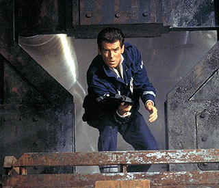 Action hero Pierce Brosnan back in 'The Coup'
