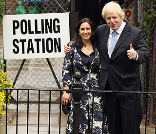 Boris Johnson ahead in London mayoral polls