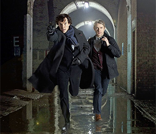 Sherlock's fake death enrages Watson in new series