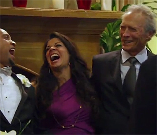 Clint Eastwood makes cameo in family's reality show