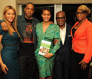Beyonce and Jay Z get parenting tips at book launch