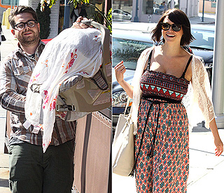 First outing for Jack Osbourne's newborn Pearl