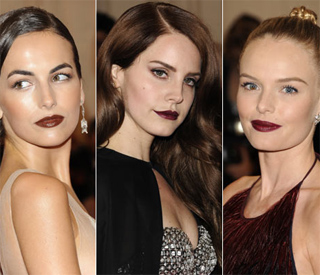 The best beauty trends from the Met Ball 2012