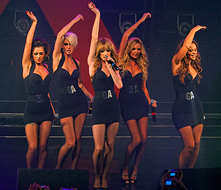 Girls Aloud get back in the studio together