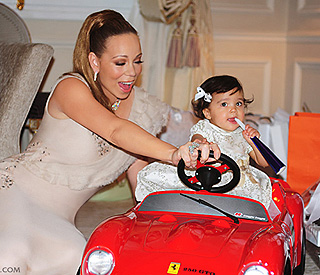 Mariah and Nick share Dem Babies' first birthday pics