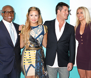 Simon Cowell finally unveils new 'X Factor USA' judges