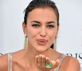 Irina Shayk dazzles on French Riviera