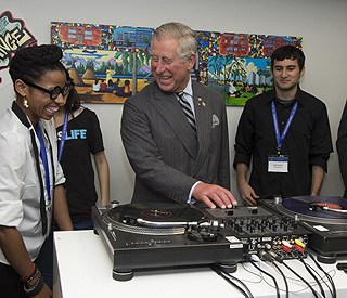 Prince Charles gets into the groove in Toronto