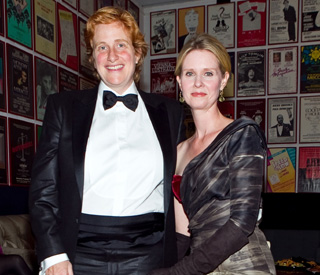 Cynthia Nixon marries longterm girlfriend Christine