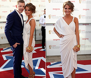 Millie Mackintosh turns heads in Grecian gown