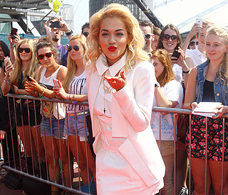 Guest judge Rita Ora admits 'X Factor' nerves
