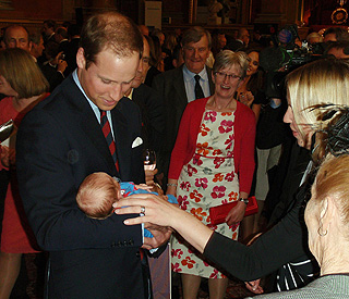 Prince William says having children is 'the key thing'