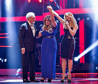 Leanne Mitchell is victorious on 'The Voice'