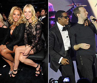 Beyonce, Jay Z, Gwyneth and Chris holiday together