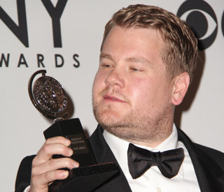 James Corden is 'The Governor' at the Tonys